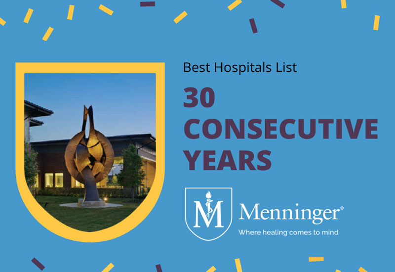 Menninger Clinic | Menninger Announces Top 10 Ranking in Psychiatry | News & Resources